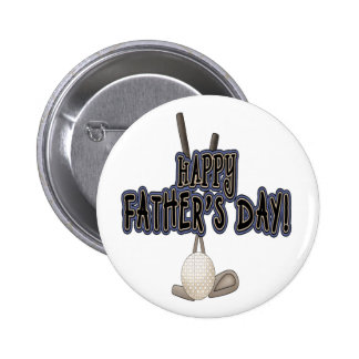 Happy Father's Day Pin
