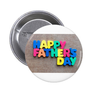Happy Father's Day Pinback Button