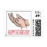 Happy Fathers Day Postage
