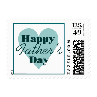Happy Father's Day Postage