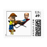 Happy Fathers Day Postage Stamps