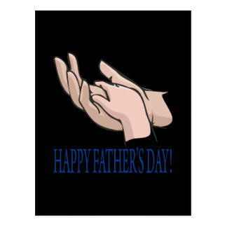 Happy Fathers Day Post Card