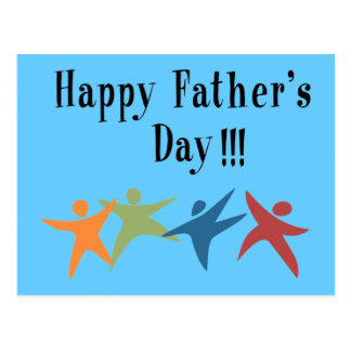 Happy Father's Day !!! - Postcard