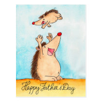 Happy Father's Day postcard by Nicole Janes