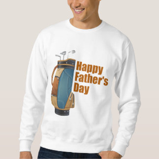 Happy Father's Day Pullover Sweatshirt