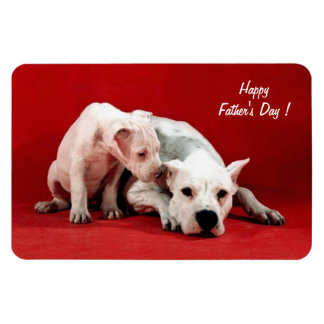 Happy Father's Day ! - Rectangular Photo Magnet