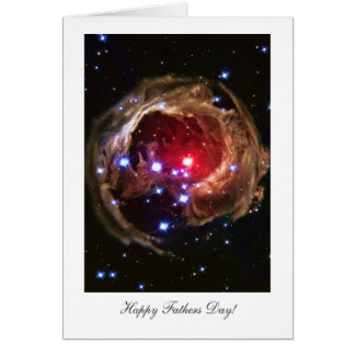 Happy Father's Day! Red Supergiant Star Card