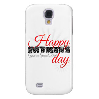 Happy Fathers Day Samsung Galaxy S4 Cover