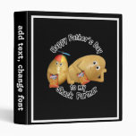 Happy Father's Day Snack Partner (Couch Potatoes) Vinyl Binders