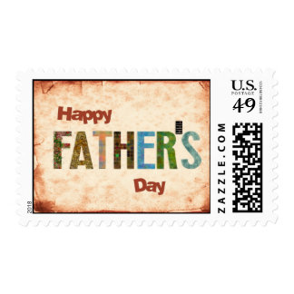 Happy Father's Day Stamp
