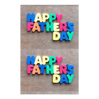 Happy Father's Day Stationery