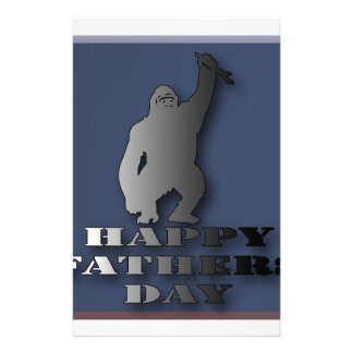 Happy fathers day. stationery