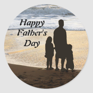 Happy Father's Day Sticker Template