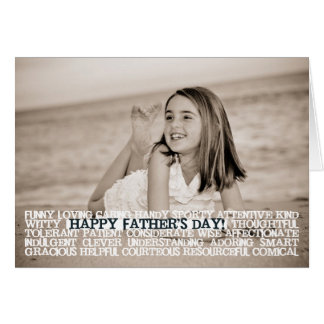Happy Father's Day Superlatives Card