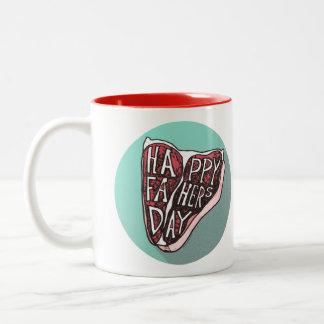 Happy Father's Day T-Bone Steak Mug