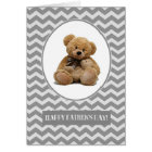 Happy Father's Day. Teddy Bear Design Cards