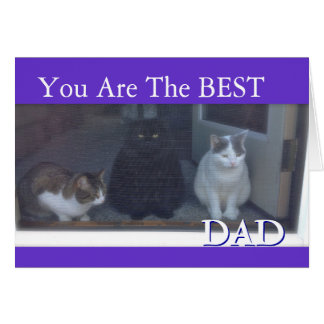 Happy Father's Day the From Cats Card