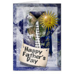Happy Father's Day to  my #1 Dad Greeting Card