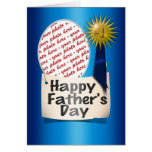 Happy Father's Day to  my #1 Dad Greeting Cards