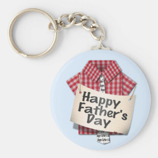 Happy Fathers Day to Someone Special Keychain