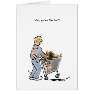 Happy Father's Day to the Best Dad! Greeting Card