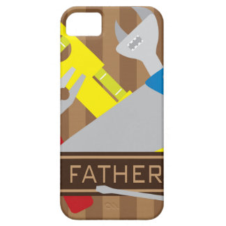 Happy Fathers Day Tools Illustration iPhone SE/5/5s Case