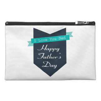 Happy Father's Day Travel Accessory Bags