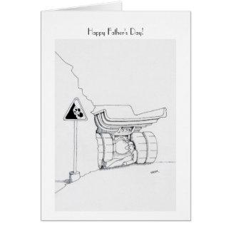 Happy Father's Day Trucker Cards, Trucker Cartoon Card