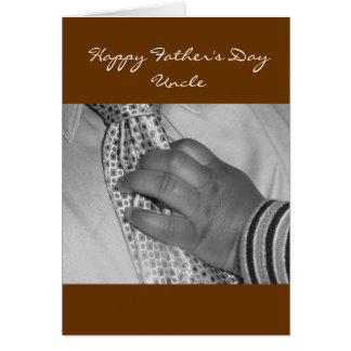 Happy Father's Day Uncle Greeting Card