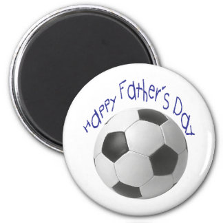 Happy Father's Day with Football Art Refrigerator Magnet