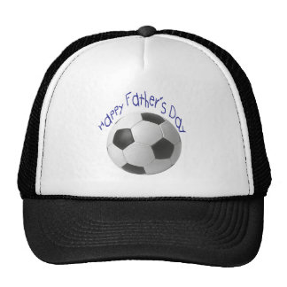 Happy Father's Day with Football Art Trucker Hat