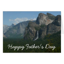 Happy Father's Day Yosemite Card