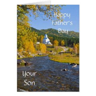 Happy Father's Day, Your Son Card