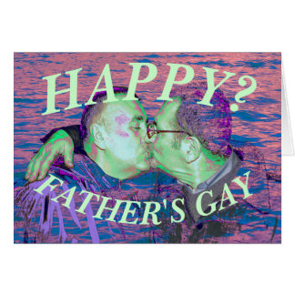 happy fathers gay card