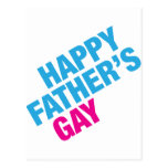 Happy Father's Gay Postcard