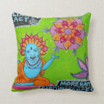 Happy Feelings Will Attract More Happy Circumstanc Throw Pillow