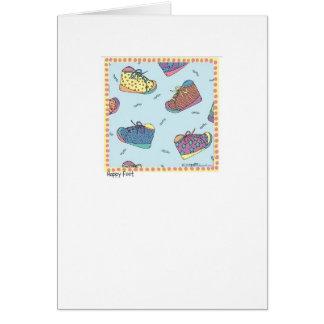 Happy Feet Card