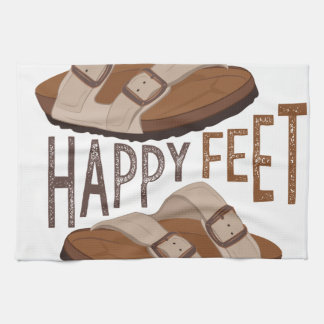 Happy Feet Hand Towels