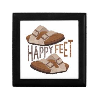 Happy Feet Keepsake Box