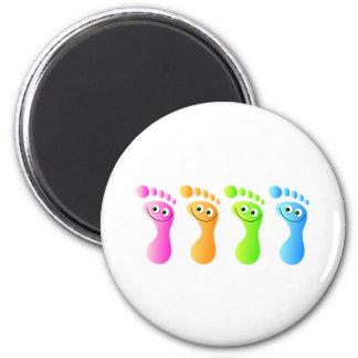 Happy Feet Magnet