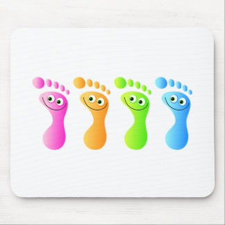 Happy Feet Mouse Pad