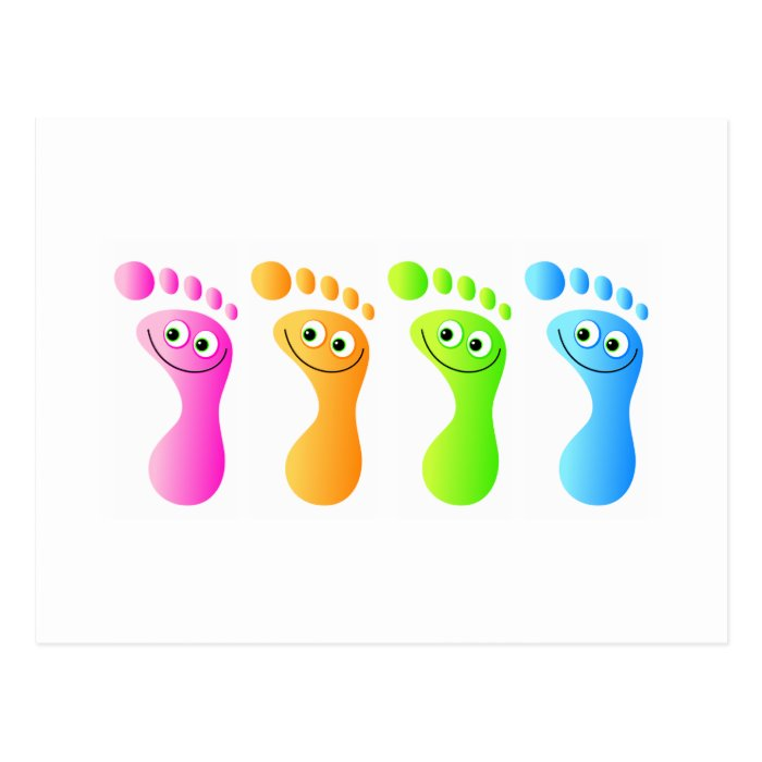 Happy Feet Postcard