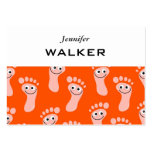 Happy Feet Wallpaper Business Cards