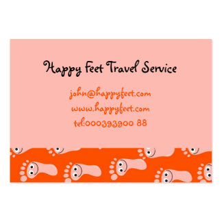 Happy Feet Wallpaper Large Business Cards (Pack Of 100)