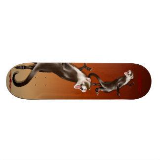 Happy Ferret Skateboard