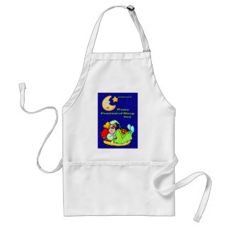 Happy Festival of Sleep Day January 3 Adult Apron