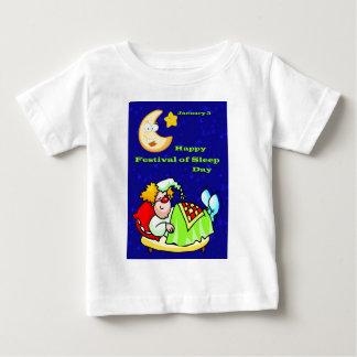 Happy Festival of Sleep Day January 3 Baby T-Shirt