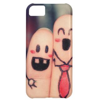 Happy fingers iPhone 5C case