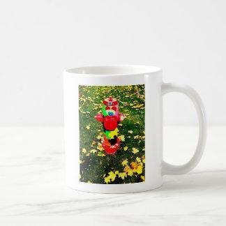 Happy Fire Hydrant Coffee Mug