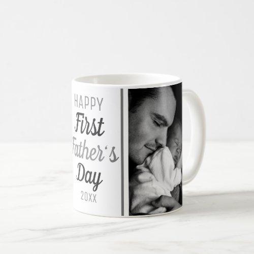 Happy First Fathers Day 2 Photo Coffee Mug